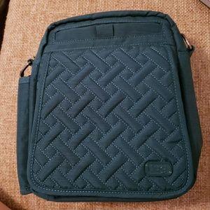 Lug TEAL Crossbody Bag w/wallet RFID
